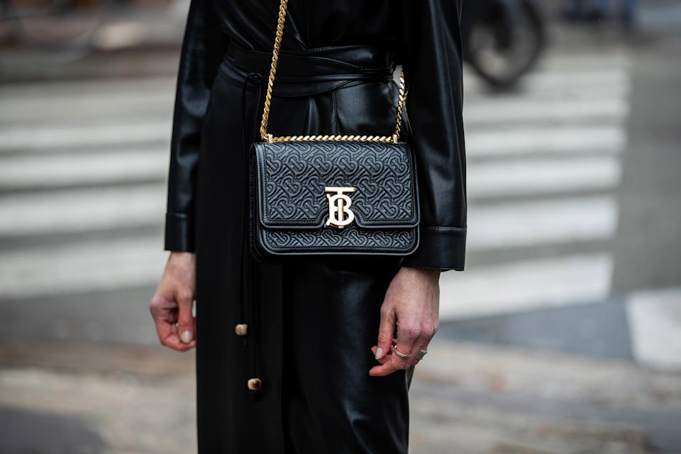 A Burberry bag. Photo: Christian Vierig/Getty Images