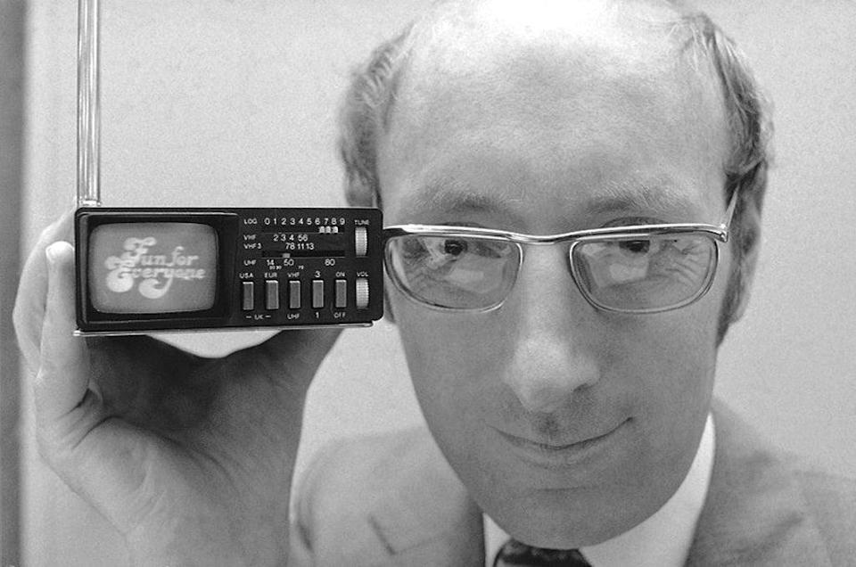 Britain Obit Clive Sinclair (Copyright 2021 The Associated Press. All rights reserved.)