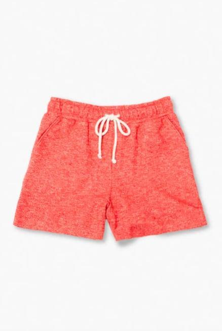 "<p>These comfy <a href=""https://www.popsugar.com/buy/Forever-21-French-Terry-Drawstring-Shorts-580167?p_name=Forever%2021%20French%20Terry%20Drawstring%20Shorts&retailer=forever21.com&pid=580167&price=13&evar1=fit%3Aus&evar9=47534970&evar98=https%3A%2F%2Fwww.popsugar.com%2Ffitness%2Fphoto-gallery%2F47534970%2Fimage%2F47534995%2FForever-21-French-Terry-Drawstring-Shorts&list1=shopping%2Cshorts%2Csummer%2Csummer%20fashion%2Ccomfortable%20clothes&prop13=mobile&pdata=1"" class=""link rapid-noclick-resp"" rel=""nofollow noopener"" target=""_blank"" data-ylk=""slk:Forever 21 French Terry Drawstring Shorts"">Forever 21 French Terry Drawstring Shorts</a> ($13) are summer-approved, thanks to their sunset-inspired red hue.</p>"