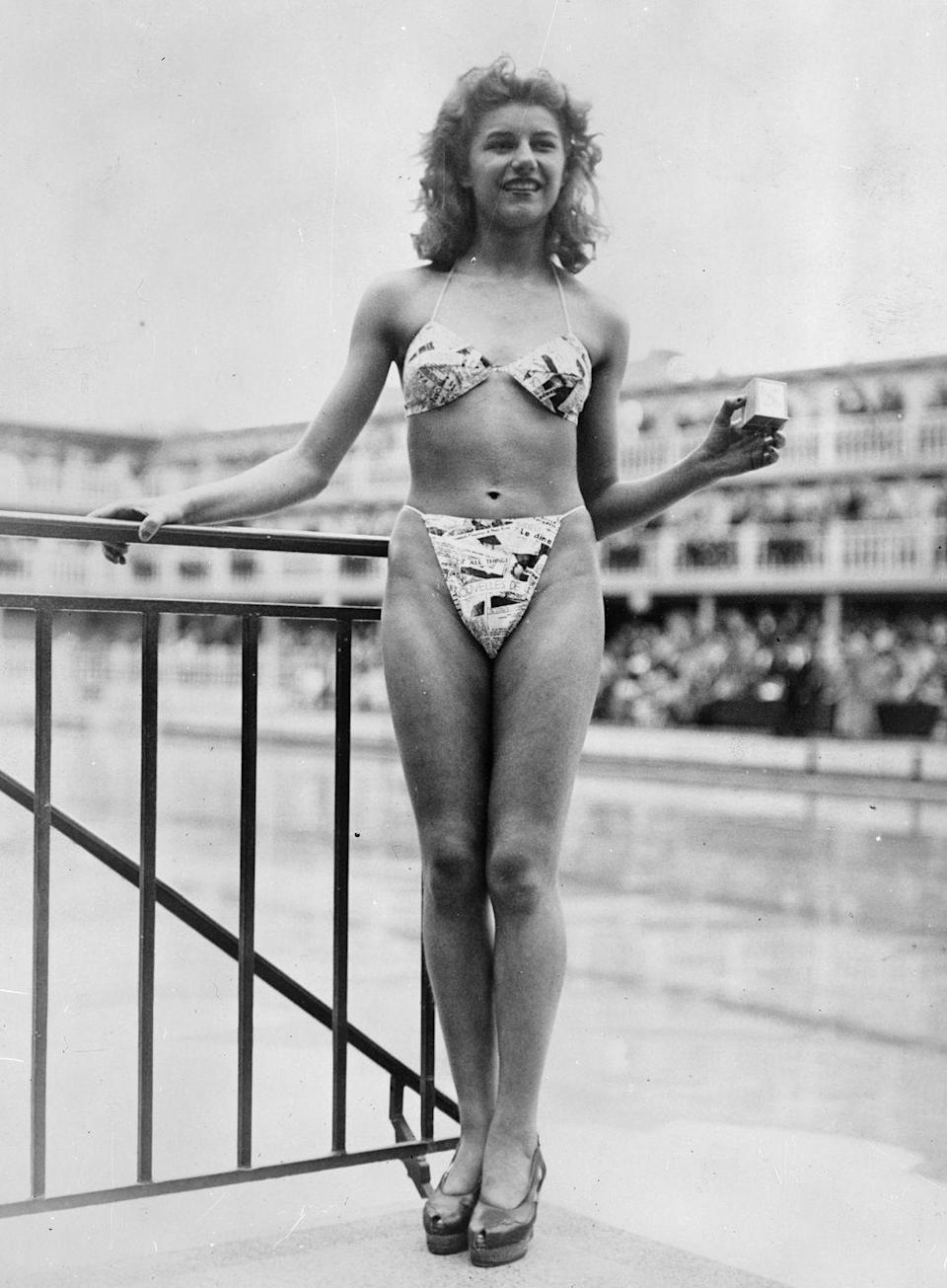 <p>It doesn't get bolder than an itsy-bitsy bikini, which first entered the summer style scene in 1946. </p>