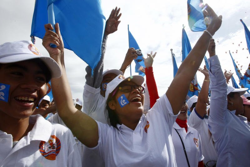 Cambodian polls promise more of the same - for now