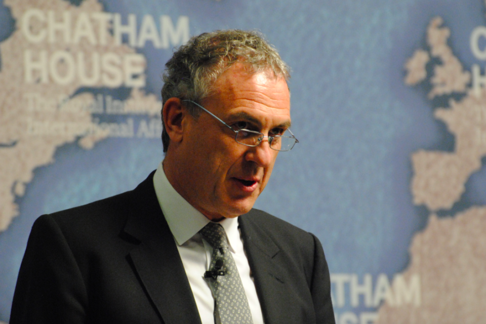 <em>Sir Simon Fraser said Britain has to show it is ready to engage in talks (Wikipedia)</em>