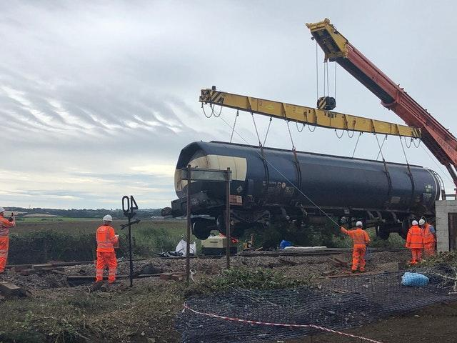 The investigation into the South Wales derailment found evidence of a brake failure (Network Rail/PA)