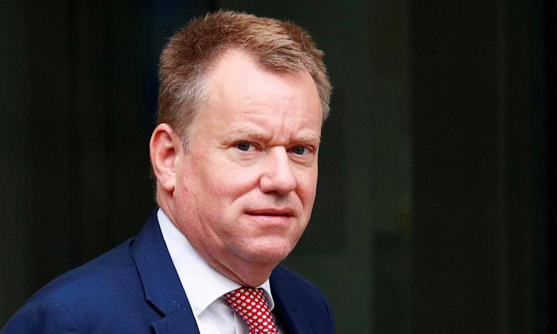 David Frost, the government's chief negotiator.