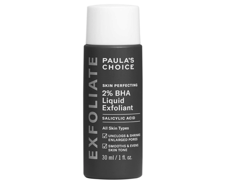 Paula's Choice 2% BHA Liquid Exfoliant is a must-have among beauty bloggers and TikTok users. Image via Paula's Choice.