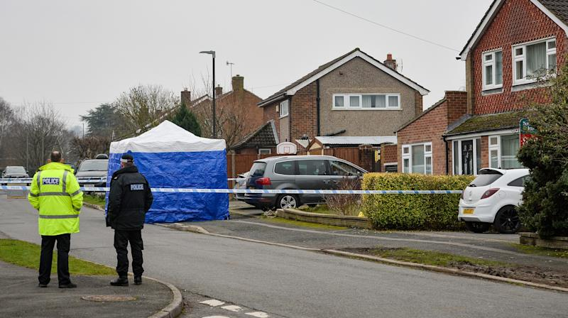Man arrested after two people found dead in Derbyshire home