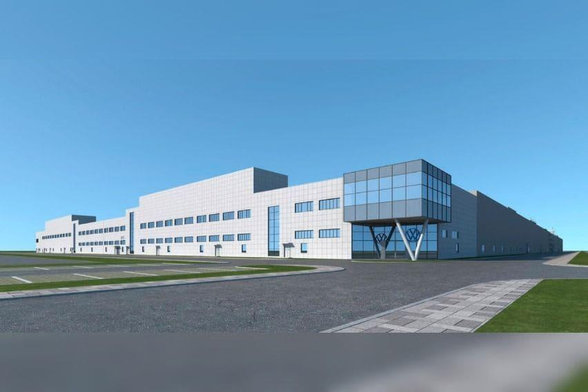 Volkswagen Group China's facility in Anhui that is targeted to be completed next year.