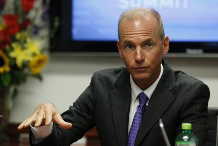 Muilenburg speaks during the last day of the Reuters Aerospace and Defense Summit in Washington