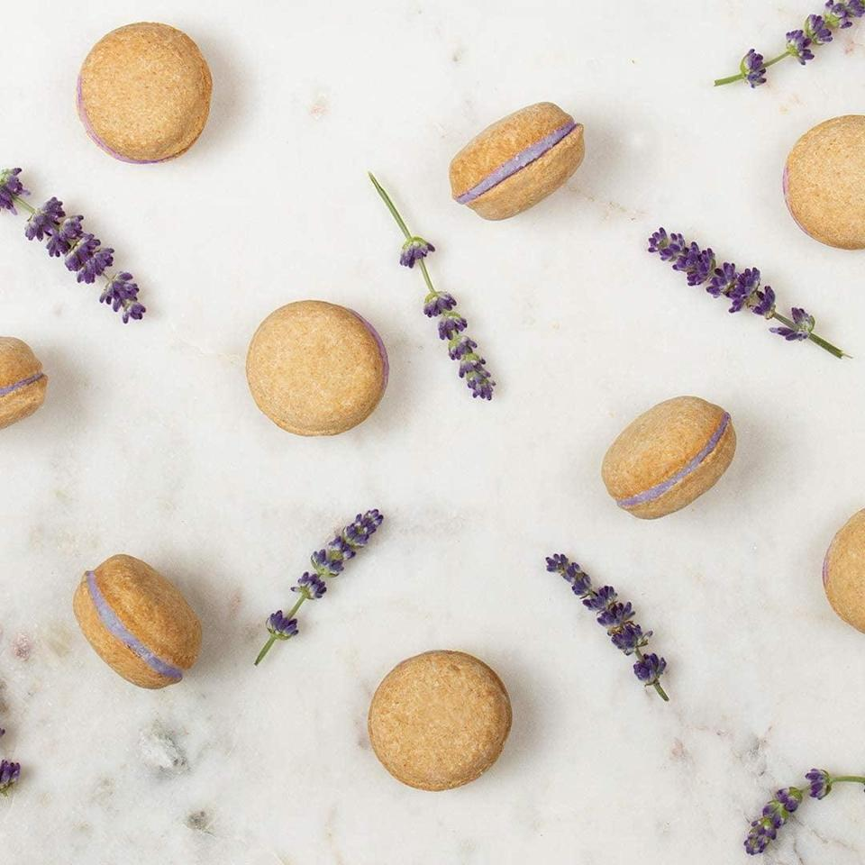 <p>Give your dog a taste of the luxury life with these <span>Dog Macarons </span> ($24).</p>