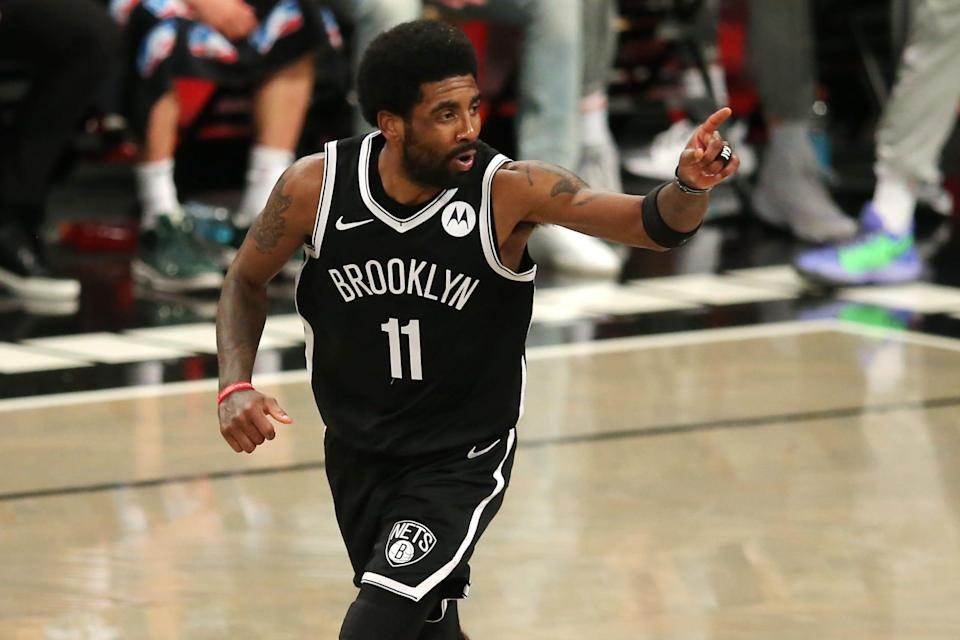 Kyrie Irving scored 25 points for the Nets.