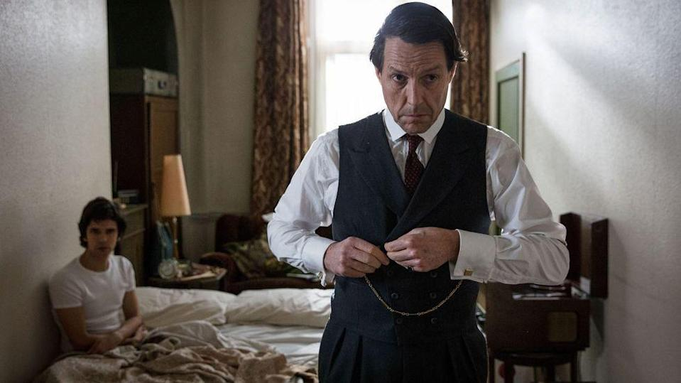 <p><strong>Coming soon to BBC One</strong></p><p>Following on from the success of Hugh Grant's turn as disgraced MP Jeremy Thorpe in A Very English Scandal, the anthology series now moves on to focus on the messy 1963 divorce of Margaret Campbell, the Duchess of Argyll, from her second husband - with the new script being penned by Agatha Christie writer Sarah Phelps.</p>