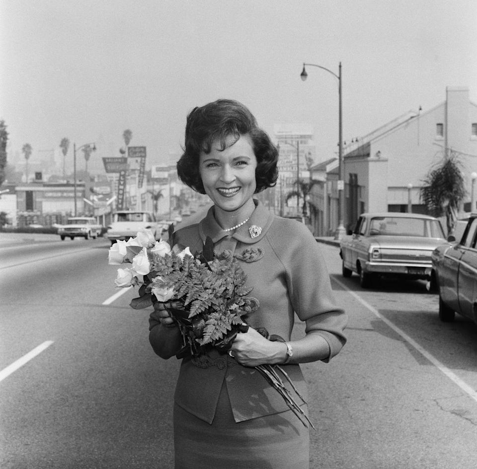 <p>Throughout most of the 1950s and 1960s, White was the hostess and commentator on the annual Tournament of Roses Parade, usually co-hosting with Lorne Greene. </p>
