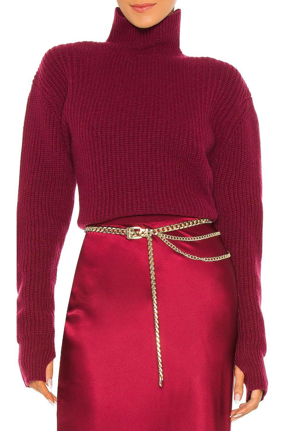 <p>This <span>8 Other Reasons Muse Belt</span> ($90) adds a luxe touch to any outfit.</p>