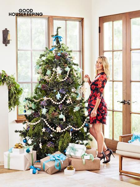 Lauren Conrad shared a behind-the-scenes look at how she decorated her home for the holidays, including her Christmas tree — see the pics!