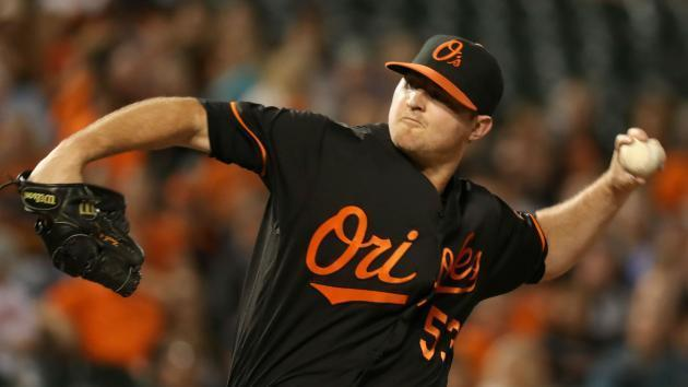 <p>Orioles closer Zach Britton placed on DL with forearm soreness</p>