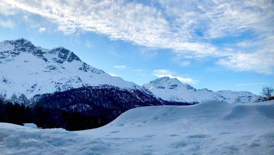 <small>Snowy St. Moritz. (Photo by Leigh Cuen for CoinDesk)</small>
