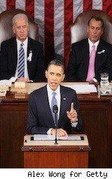 obama speaks at the 2011 state of the union