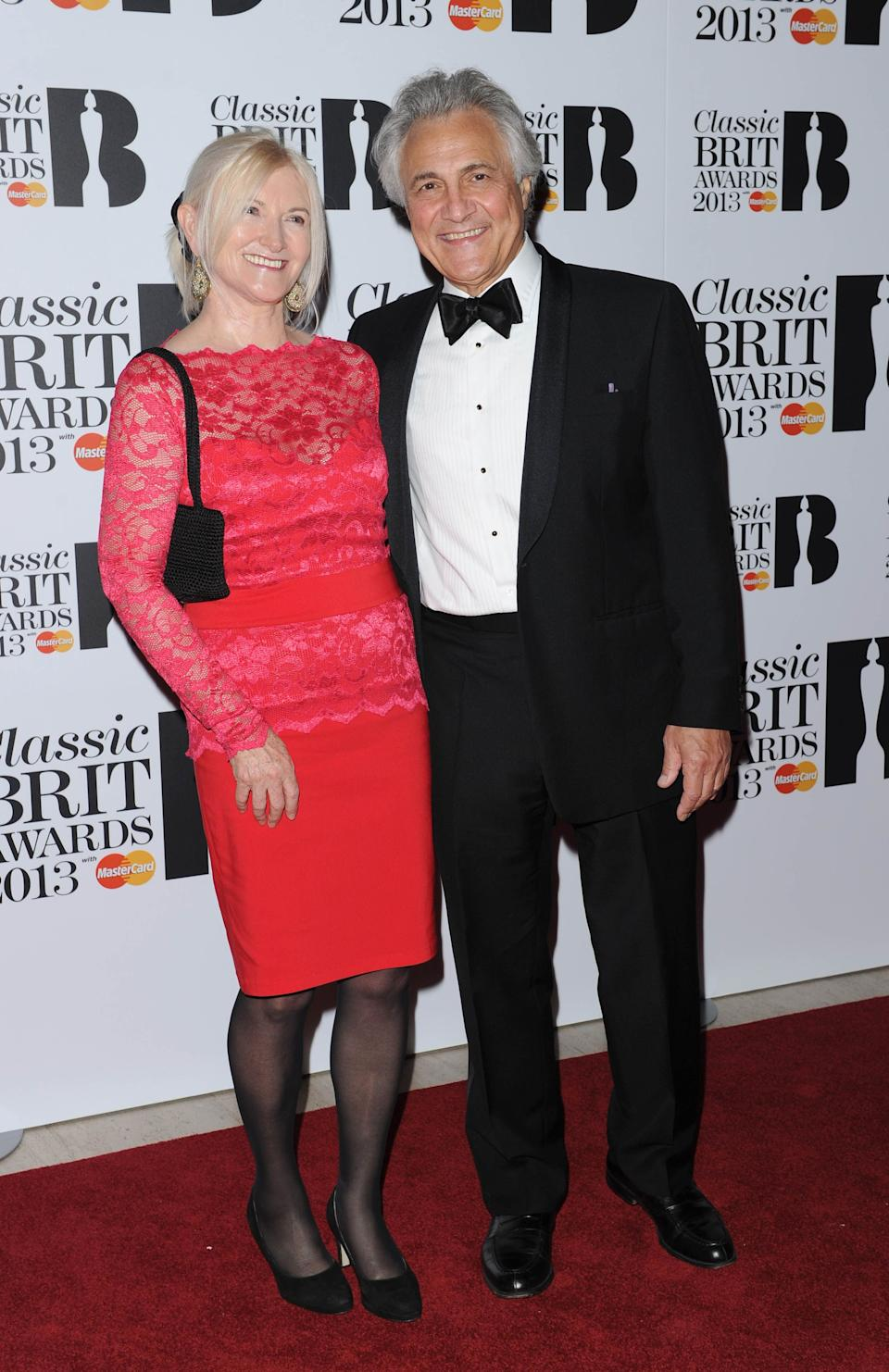 Classical Brit Awards, Royal Albert Hall, London, Britain - 02 Oct 2013, Bonnie Suchet And John Suchet (Photo by Brian Rasic/Getty Images)
