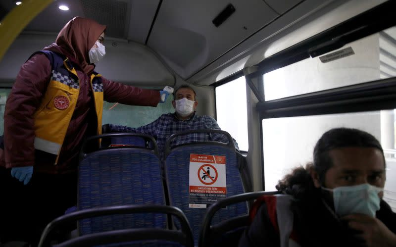 Turkey's coronavirus death toll reaches 908 with 42,282 total cases - minister