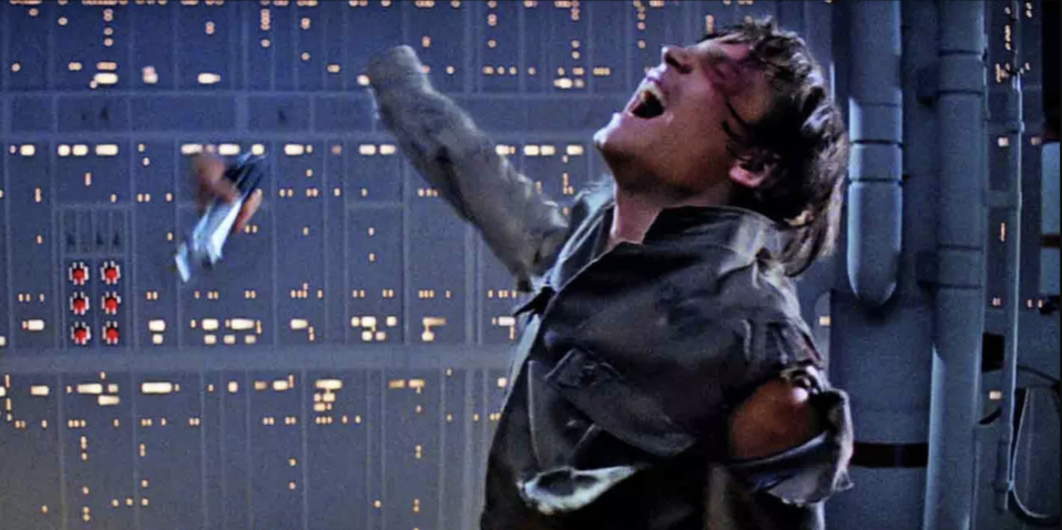 Luke loses his hand in Empire Strikes Back (credit: 20th Century Fox)