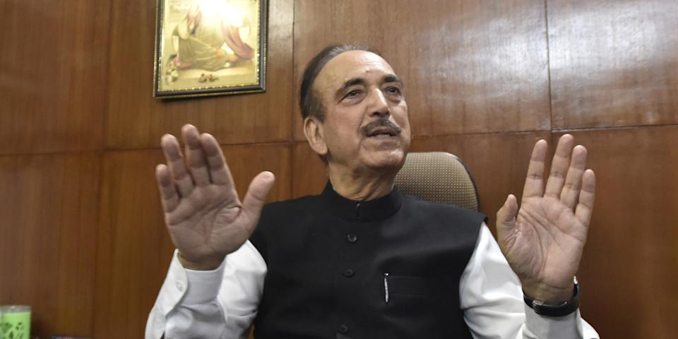 Congress leaders must shed 'five-star culture': Azad