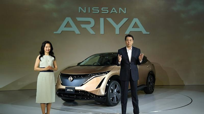 Nissan has unveiled the new Ariya electric car as part of a new strategy.