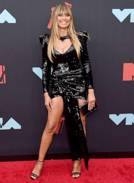 PHOTO: Heidi Klum attends the 2019 MTV Video Music Awards at Prudential Center on Aug. 26, 2019 in Newark, N.J. (Jamie Mccarthy/Getty Images for MTV)