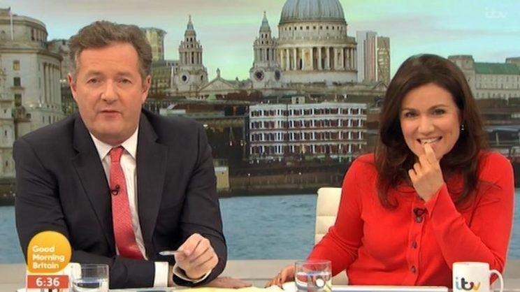 Piers Morgan made an offer that some of his fans would support, after Theresa May welcomed in a hung parliament. (ITV)