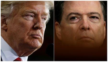 Trump says he did not record conversations with former Federal Bureau of Investigation chief Comey