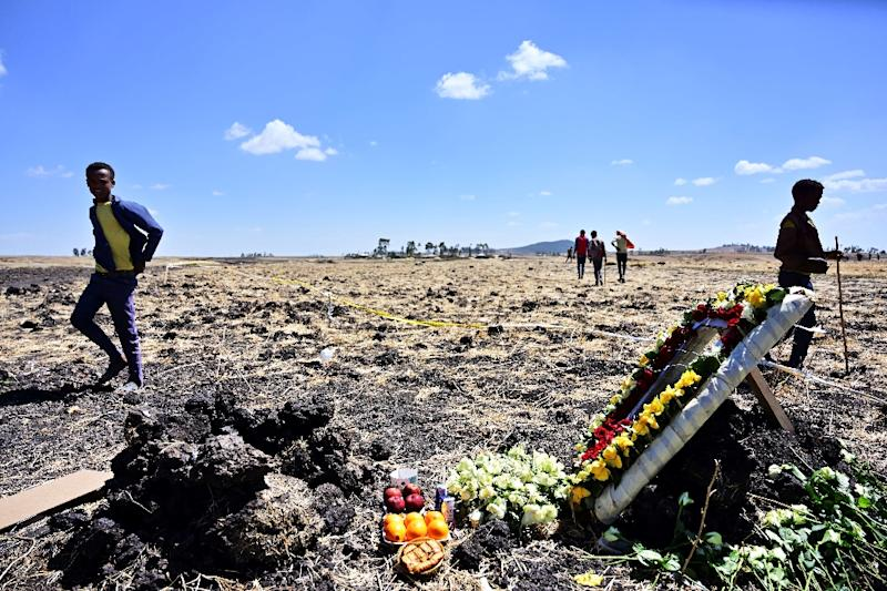 The Boeing 737 MAX 8, operated by Ethiopian Airlines, crashed on March 10, southeast of Addis Ababa