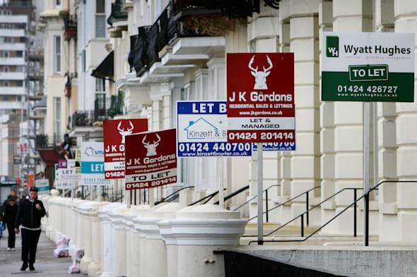 Property lettings stock