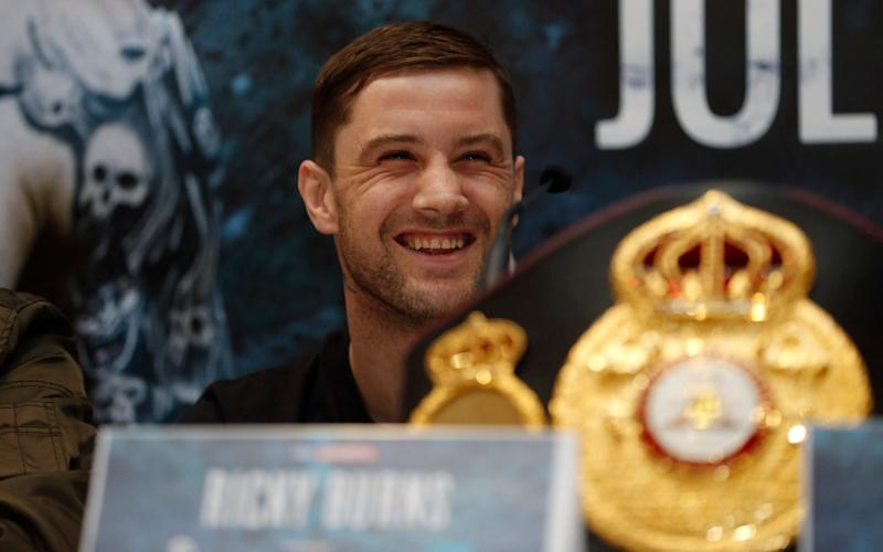 Ricky Burns has five defeats in his 47-fight career - REUTERS