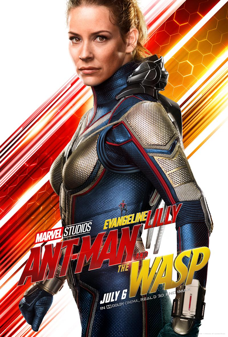 Evangeline Lilly in <i>Ant-Man and the Wasp</i>. (Image: Marvel)