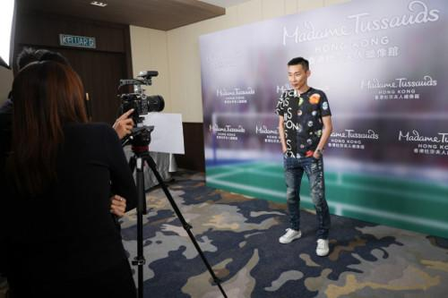 Lee Chong Wei went through a 6-hour sitting session with the Madame Tussauds Hong Kong team.