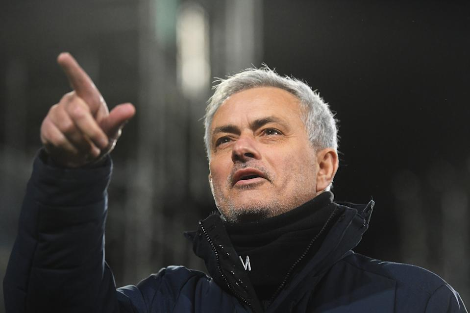 "<p>Mourinho: ""I don't want to look too much to the table""</p> (Getty Images)"