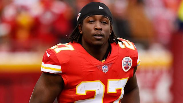 The Chiefs released running back Kareem Hunt on Friday. (AP)