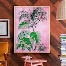 <p>This <span> Drew Barrymore Flower Home Palm Springs Framed Canvas</span> ($49-$110) will add some color to any room.</p>