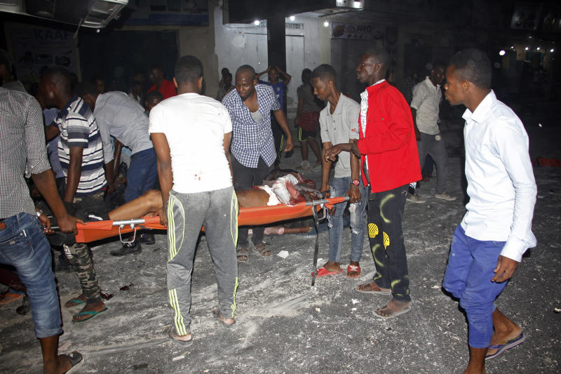Death toll rises to 18 in Somalia bombing, clashes with militants