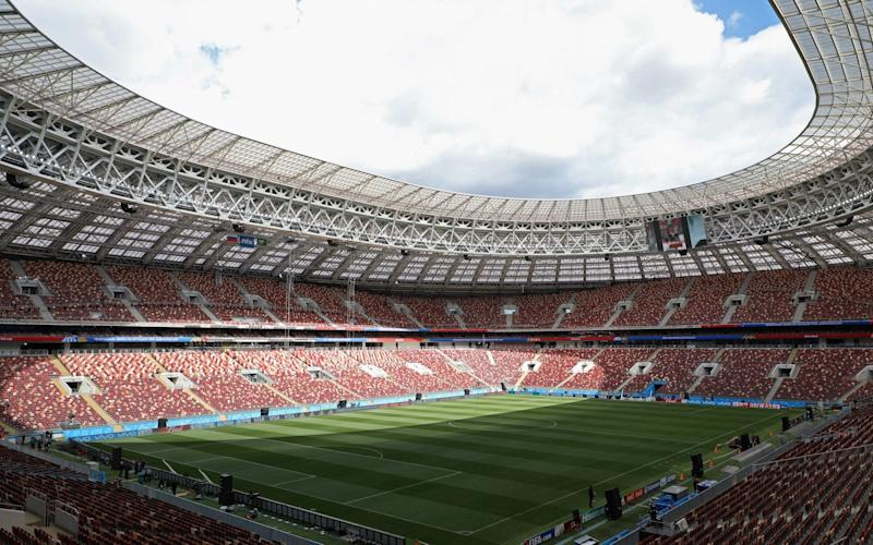 Moscow's Luzhniki Stadium will host the opening ceremony and, indeed, the final - FIFA