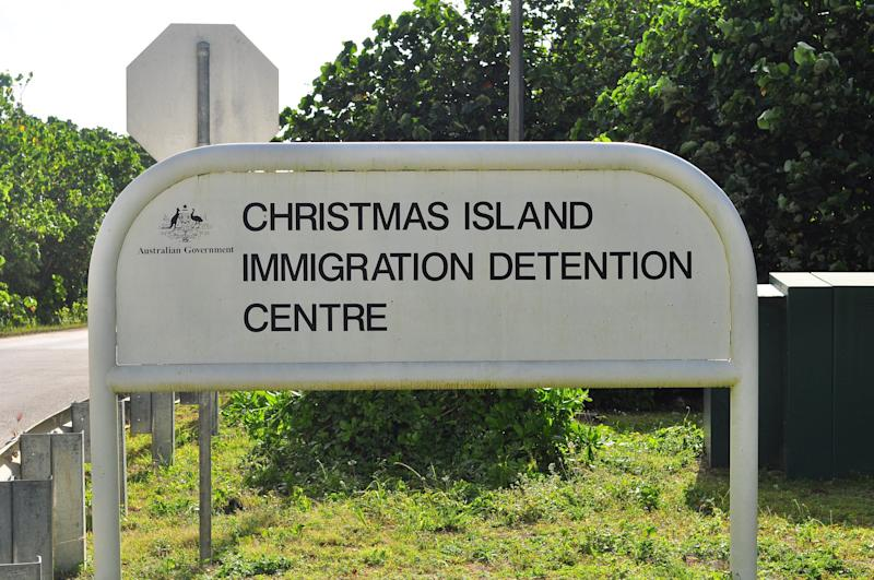 Australians evacuated from China headed for Christmas Island. (Photo by Scott Fisher/Getty Images) (Photo: Getty Images)