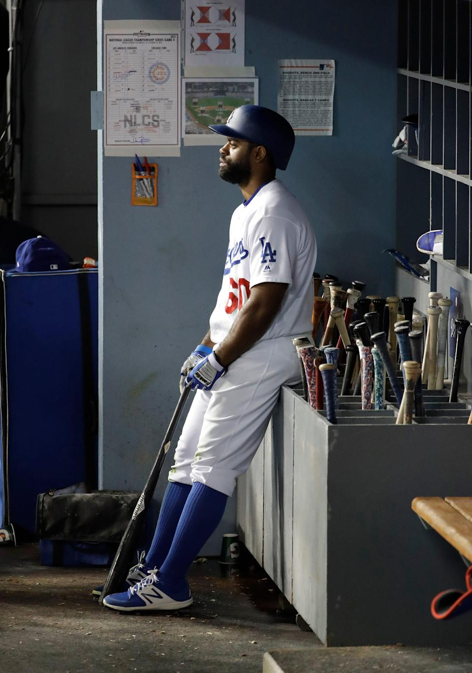 Andrew Toles hit .462 with a 1.082 OPS during the 2016 NLCS against the Cubs.