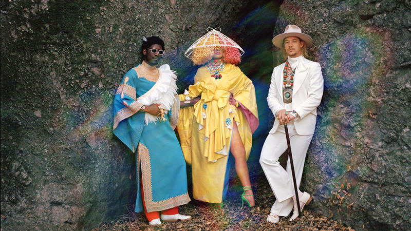 Sia Diplo And British Artist Labrinth Have Dropped The First Song From Their Collaborative Project Called Naturally Enough Is