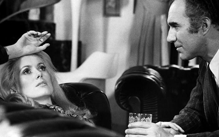 Michael Piccoli with Catherine Deneuve in Heartbeat, 1968 - Lopert/Getty Images