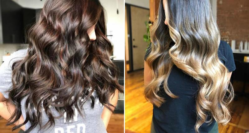 This Super Long Ombre Hair Transformation Is A Feat Of Color