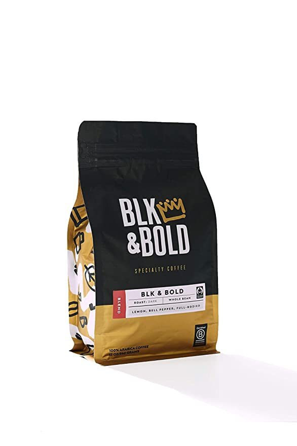 """A new brew for dad's morning cup of joe. <br><br><strong>BLK & Bold</strong> BLK & Bold Coffee Blend, $, available at <a href=""""https://amzn.to/3ck9Ybt"""" rel=""""nofollow noopener"""" target=""""_blank"""" data-ylk=""""slk:Amazon"""" class=""""link rapid-noclick-resp"""">Amazon</a>"""