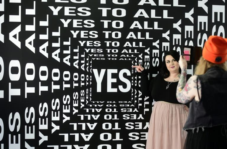 """At a pop-up selfie museum in Cologne, visitors say having fun outweighs the hunt for """"likes"""""""