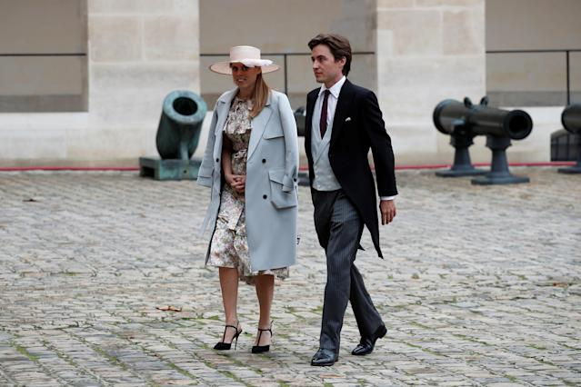 Beatrice and Edoardo Mozzi announced their engagement in September. (Reuters)