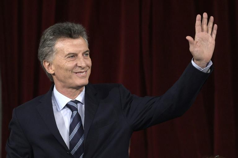 Argentina President Mauricio Macri (pictured), his father, and brother Mariano were on the board of directors of an offshore company registered in the Bahamas since 1998, the daily La Nacion reported