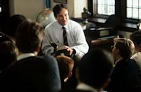 """<p><a class=""""link rapid-noclick-resp"""" href=""""https://www.amazon.com/Dead-Poets-Society-Robin-Williams/dp/B00BQJKVPS?tag=syn-yahoo-20&ascsubtag=%5Bartid%7C10058.g.2509%5Bsrc%7Cyahoo-us"""" rel=""""nofollow noopener"""" target=""""_blank"""" data-ylk=""""slk:watch"""">watch</a></p><p> Set at a New England private school in 1959, this movie follows an English teacher, played by Robin Williams, and his relationship with his students as he teaches them to live a little more through poetry. The movie gave Williams his second Oscar nominee, and Ethan Hawke said that working on this movie <a href=""""https://www.mentalfloss.com/article/59232/15-facts-about-dead-poets-society"""" rel=""""nofollow noopener"""" target=""""_blank"""" data-ylk=""""slk:inspired him to"""" class=""""link rapid-noclick-resp"""">inspired him to</a> continue to be an actor. </p>"""