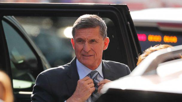 PHOTO: Former U.S. National Security Adviser Michael Flynn arrives for a plea hearing at U.S. District Court, December 1, 2017. (Jonathan Ernst/Reuters)
